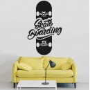 Vinilos Decorativos - Skate Boarding