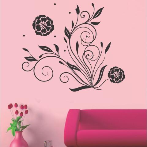 Vinilos Decorativos - Flor abstracta