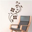 Vinilos Decorativos - Flores Abstractas