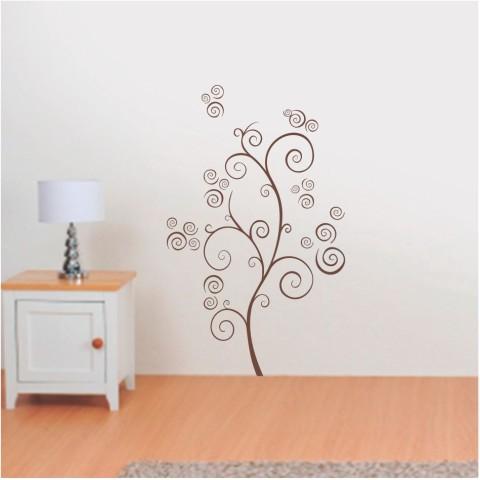 Vinilos Decorativos - Arbol espirales