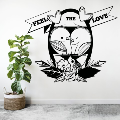 Vinilos Decorativos - Feel the Love