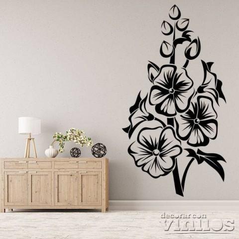 Vinilos Decorativos - Flores grandes