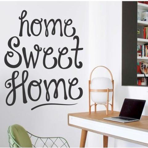 Vinilos de Frases - Home sweet home