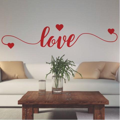 Vinilos de Frases - Love