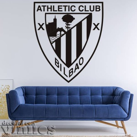 Vinilos Decorativos - Escudo Athletic Bilbao