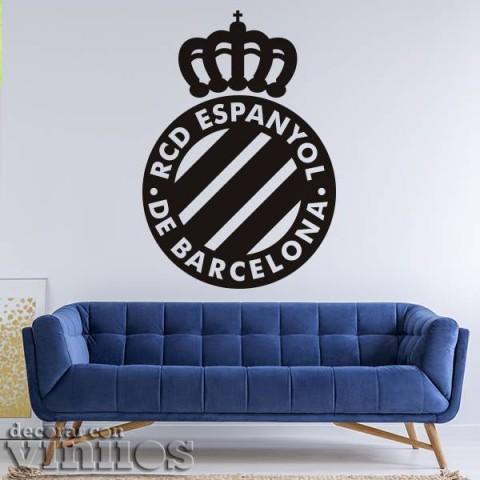 Vinilos Decorativos - Escudo RCD Espanyol