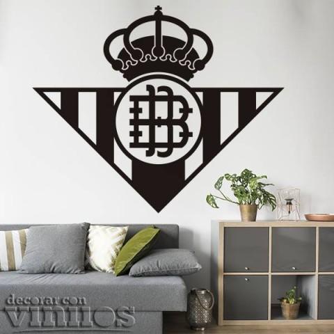 Vinilos Decorativos - Escudo Real Betis