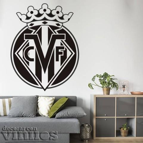 Vinilos Decorativos - Escudo Villarreal