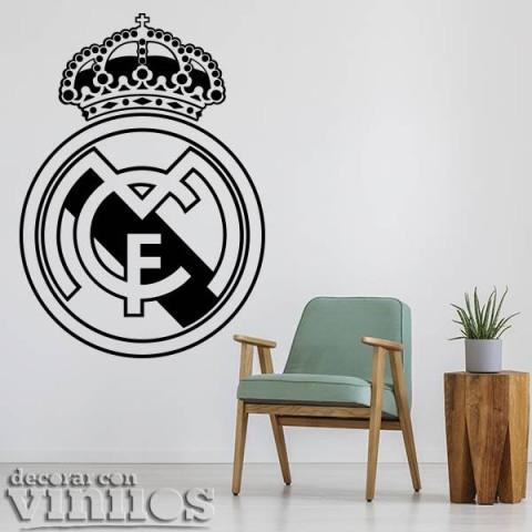 Vinilos Decorativos - Escudo Real Madrid
