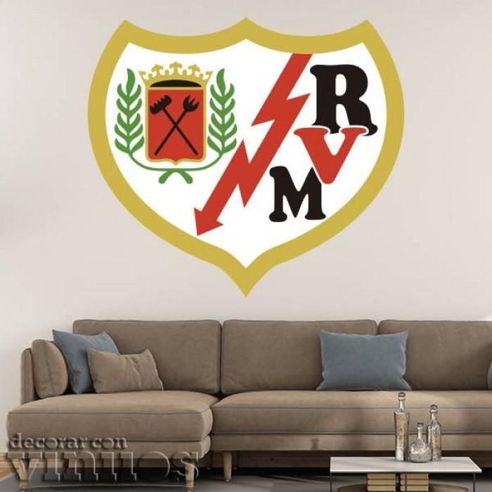 Vinilos Decorativos - Escudo Rayo Vallecano Color