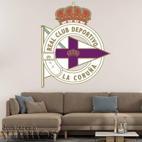 Vinilos Decorativos - Escudo Deportivo la Coruña Color