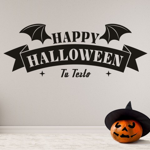 Vinilos Decorativos - Happy Halloween