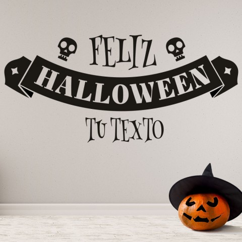 Vinilos Decorativos - Feliz Halloween