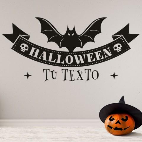 Vinilos Decorativos - Halloween Murcielago