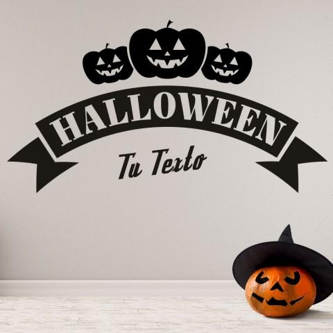 Vinilos Decorativos - Halloween Calabazas