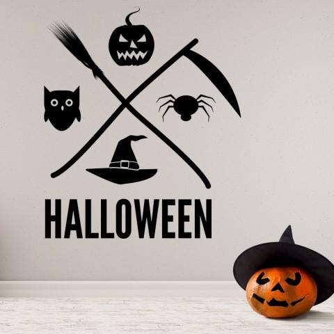 Vinilos Decorativos - Halloween Miedo