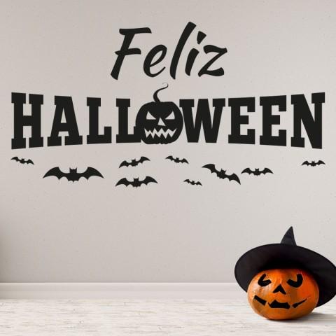 Vinilos Decorativos - Halloween Murcielagos