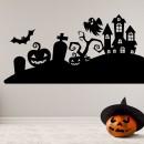 Vinilos Decorativos - Halloween Casas