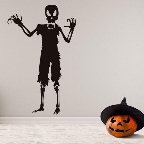 Vinilos Decorativos - Halloween Calavera Enfadada