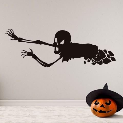 Vinilos Decorativos - Halloween Calavera Bajo Tierra