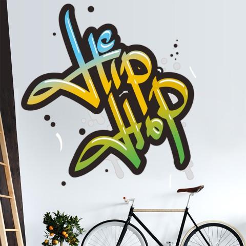Vinilos Decorativos - Grafiti Hip Hop