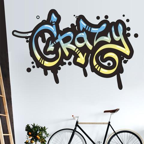 Vinilos Decorativos - Grafiti Crazy