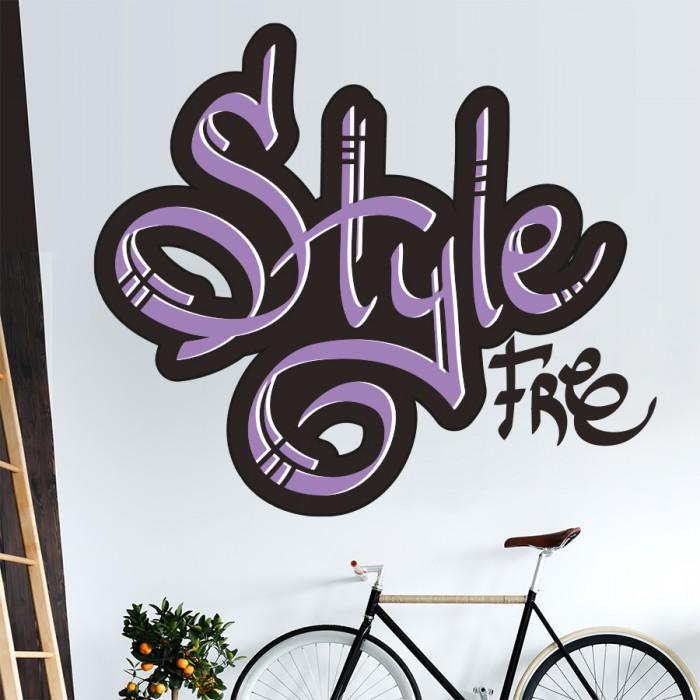 Vinilos Decorativos - Grafiti Style Free
