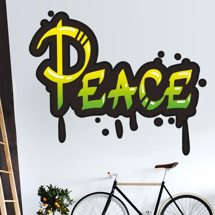Vinilos Decorativos - Grafiti Peace