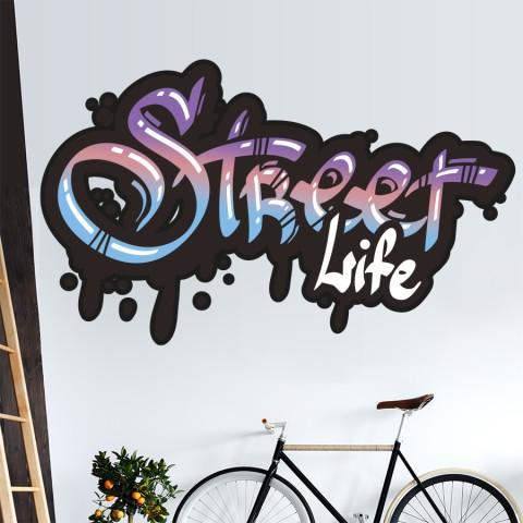 Vinilos Decorativos - Street Life