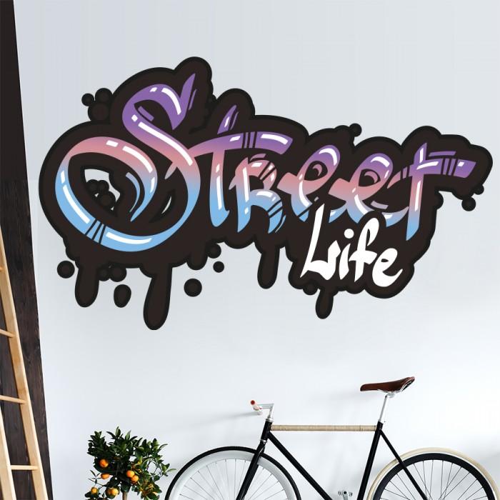 Vinilos Decorativos - Grafiti street life