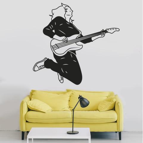 Vinilos Decorativos - Guitarrista