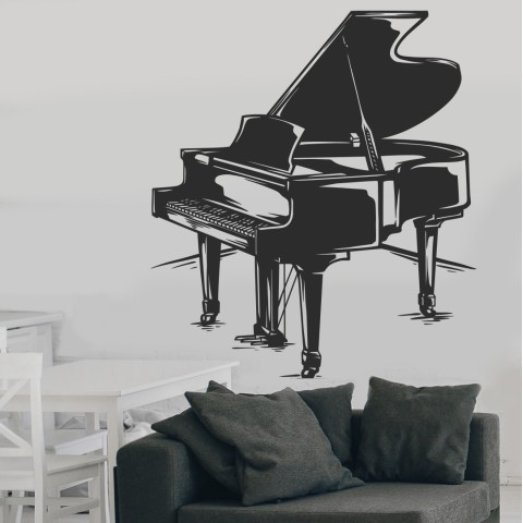 Vinilos Decorativos - Piano de cola