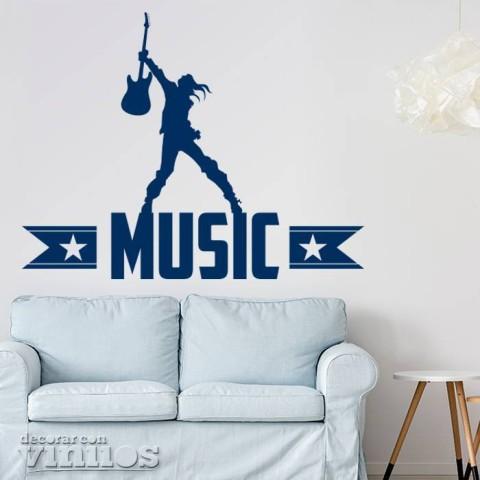 Vinilos Decorativos - Music