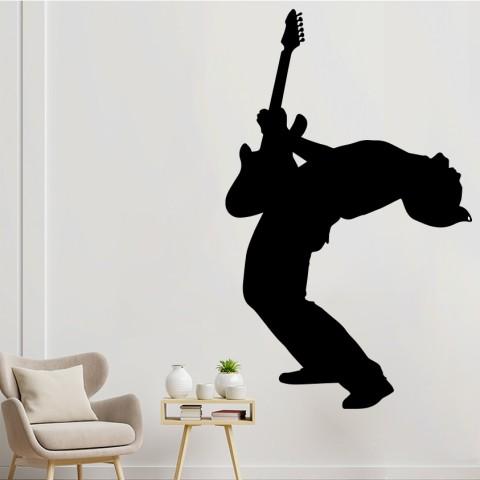Vinilos Decorativos - Guitarrista 4