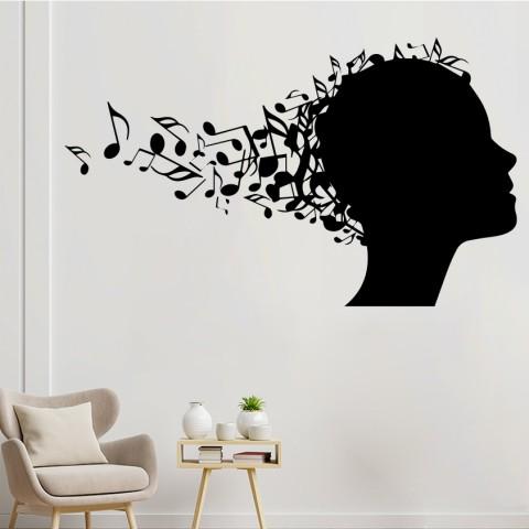 Vinilos Decorativos - Mente musical