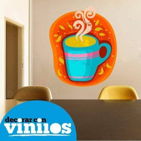 Vinilo Decorativo - Taza de cafe