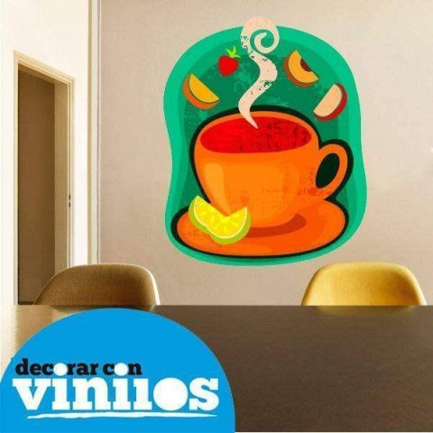 Vinilo Decorativo - Taza de cafe 2