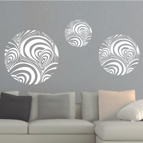 Vinilos Decorativos - Circulos abstractos