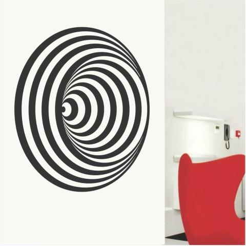 Vinilos Decorativos - Espiral 3D
