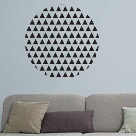 Vinilos Decorativos - Circulo triangulos