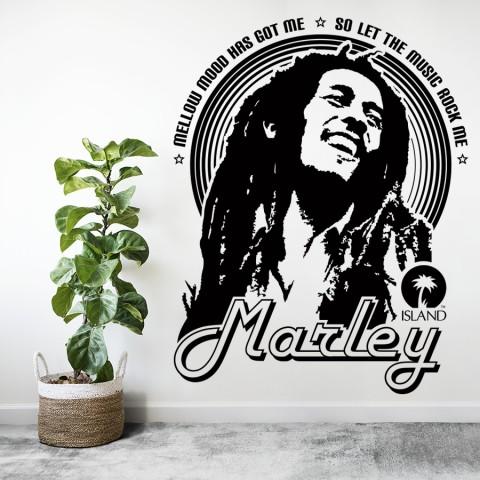 Vinilos Decorativos - Bob Marley