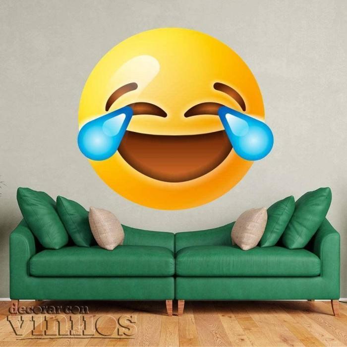Emoticono Llorando de risa