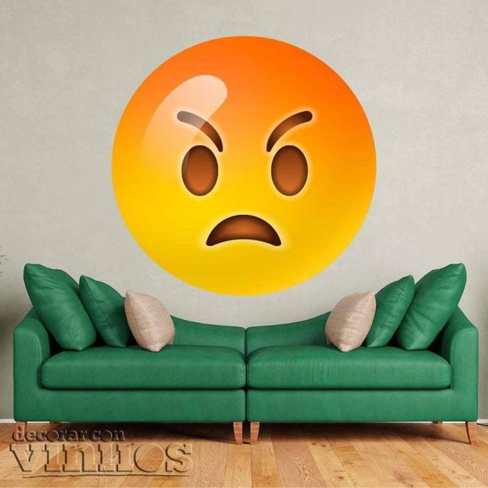 Emoticono Enfadado