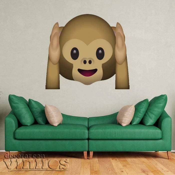 Emoticono Mono Sordo