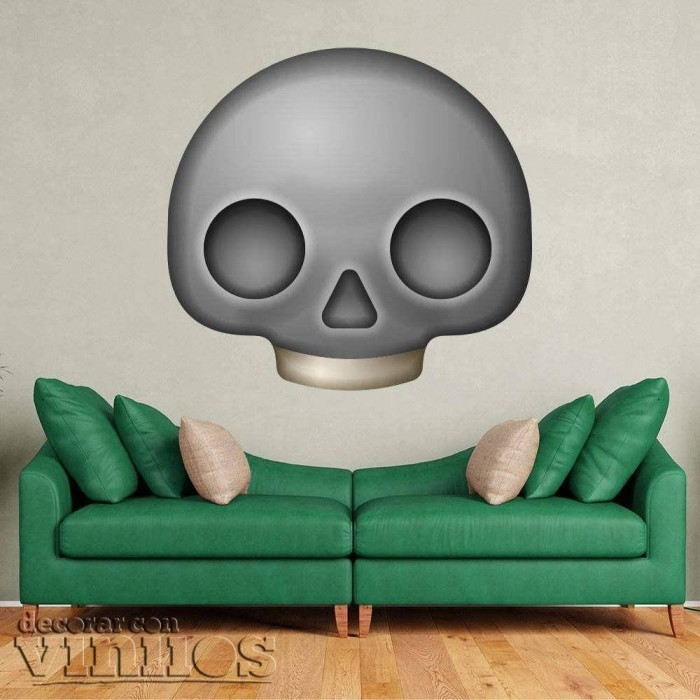 Emoticono Calavera