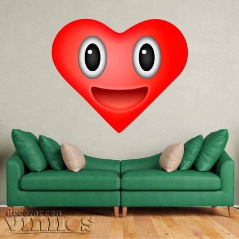 Emoji Corazon contento