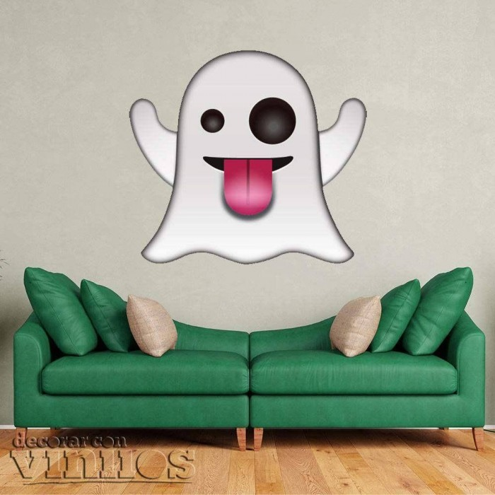 Emoticono Fantasma