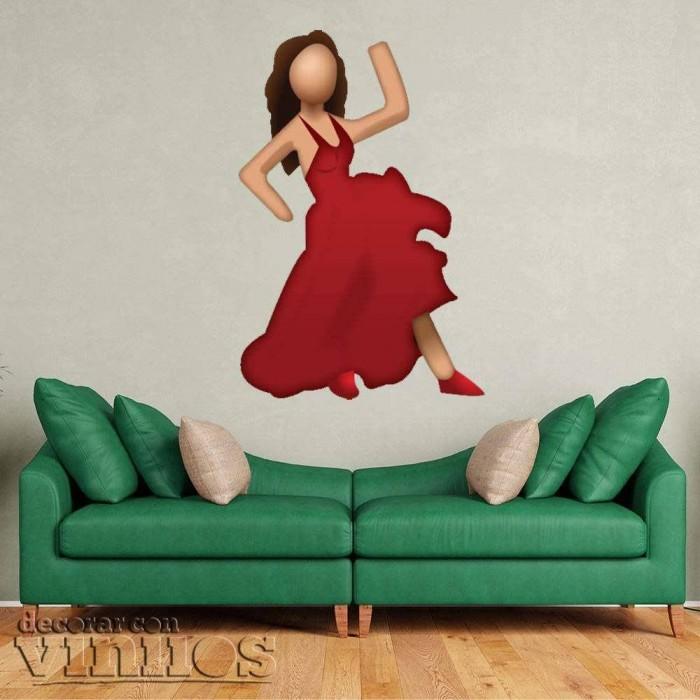 Emoticono Flamenca