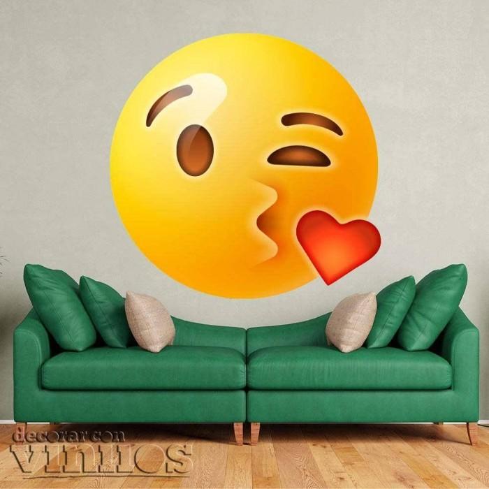 Emoticono Beso