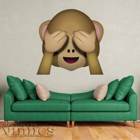 Emoji Mono Ciego
